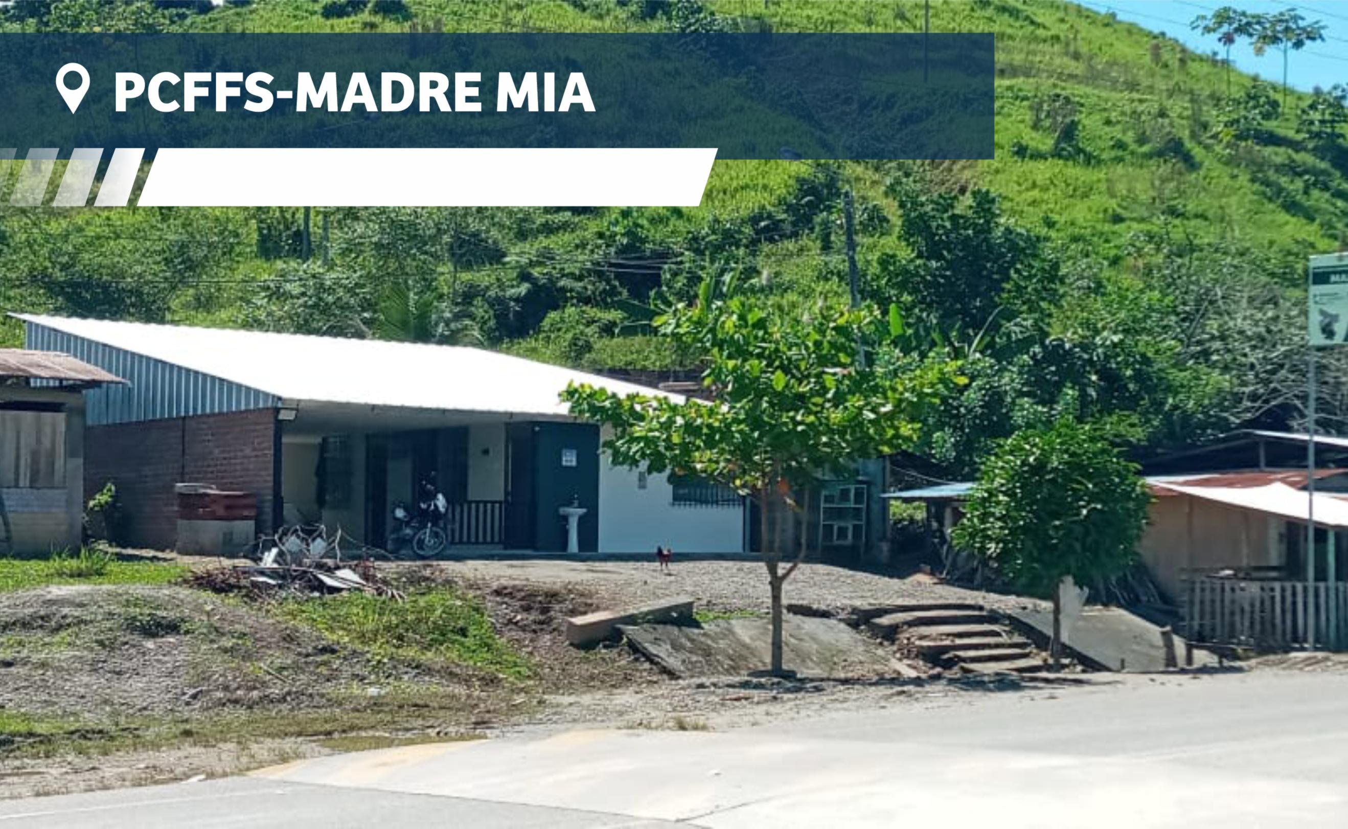 PUESTO DE CONTROL FORESTAL Y FAUNA SILVESTRE - MADRE MÍA